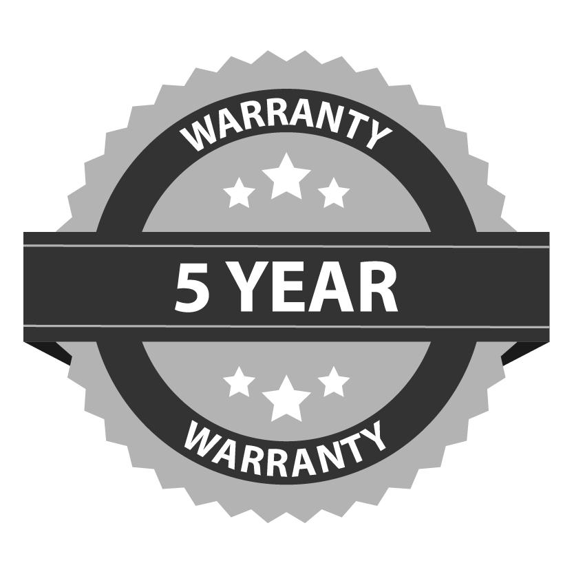 ES 5 Year Warranty