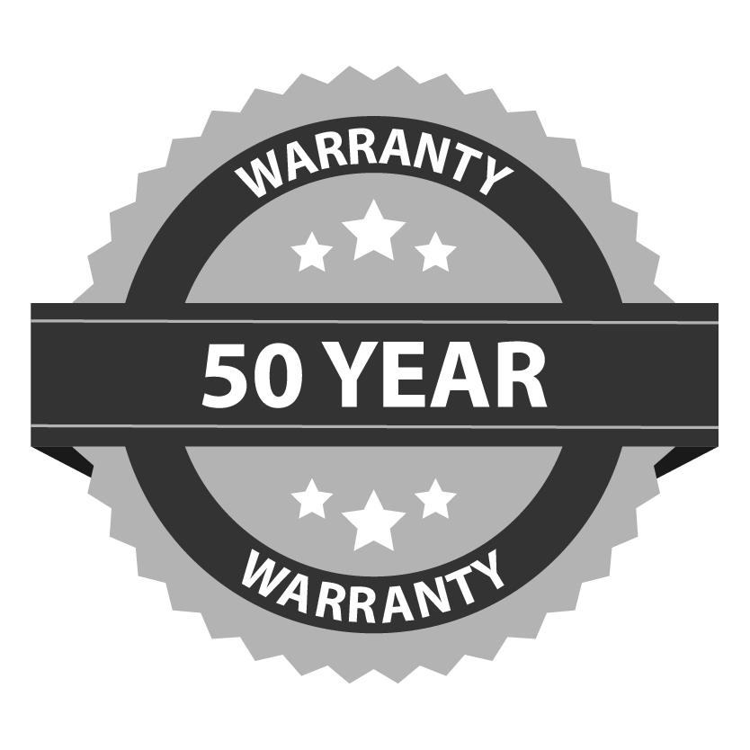 ES 50 Year Warranty